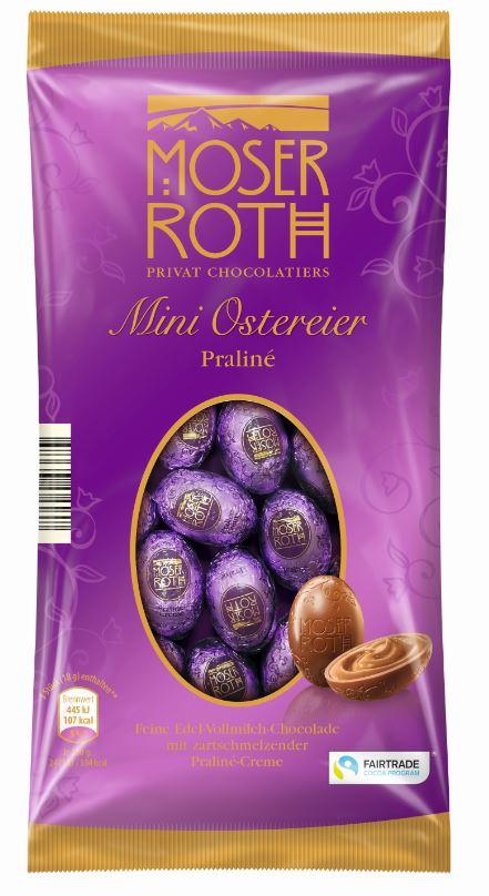 Moser Roth Mini Ostereier Praliné