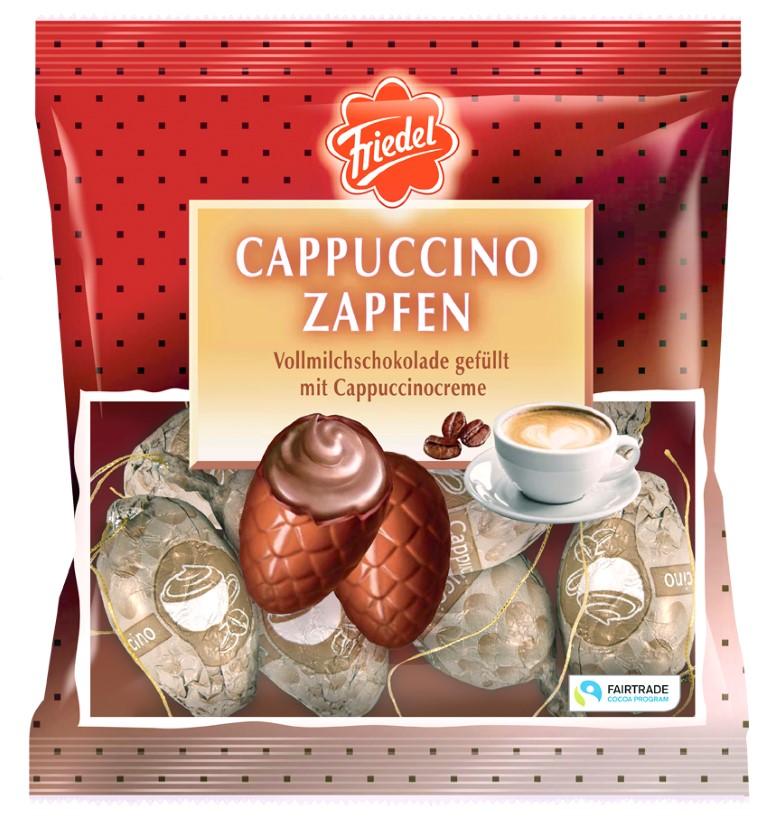 Cappuccino Zapfen 100g