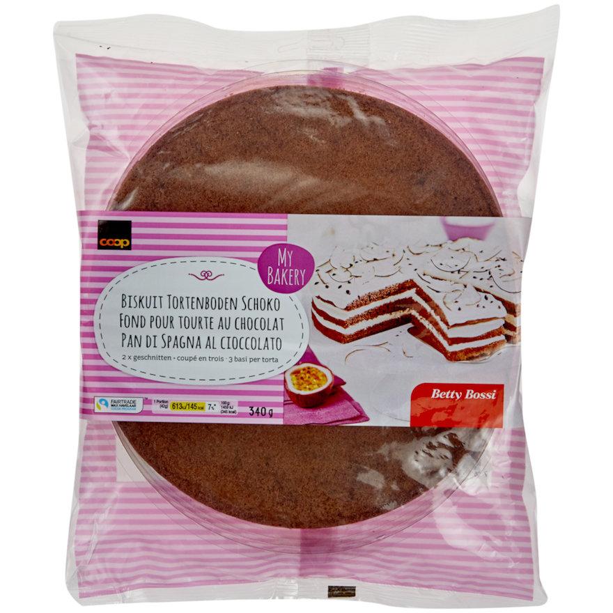 Biskuit Tortenboden Schoko