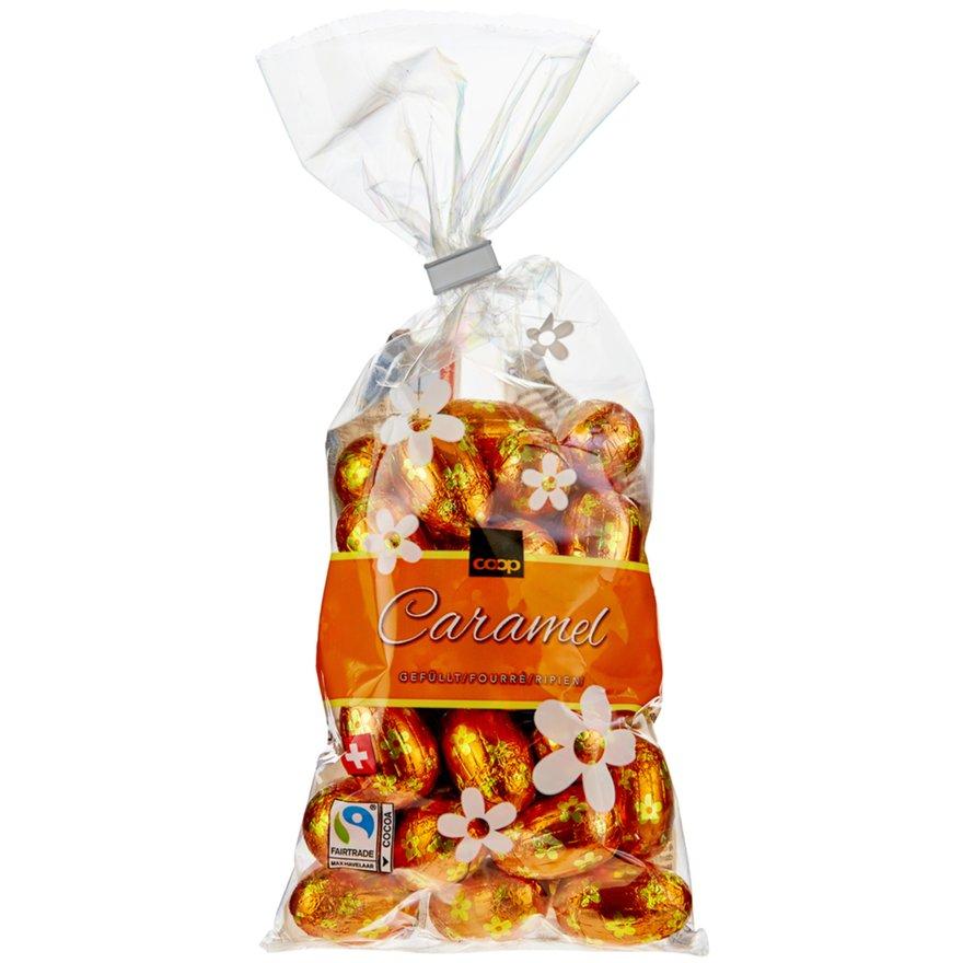 Schokoladen-Eili Caramel, gefüllt