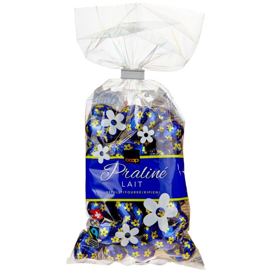 Schokoladen-Eili Praliné Lait, gefüllt