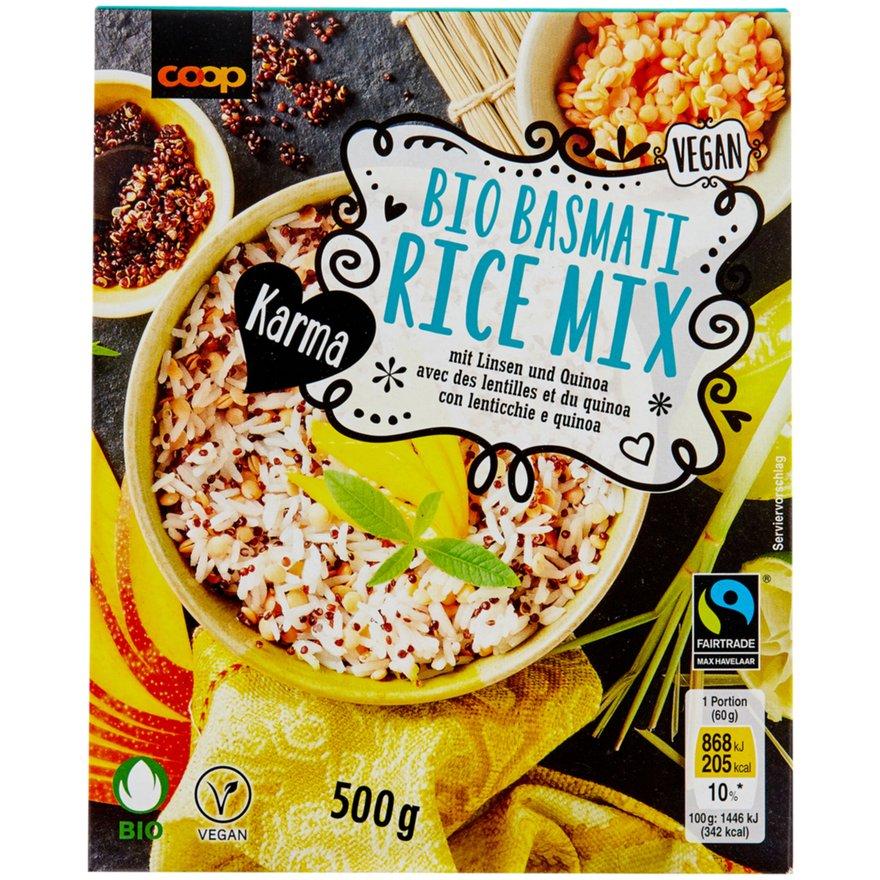 Basmati Reis Mix, mit Linsen und Quinoa