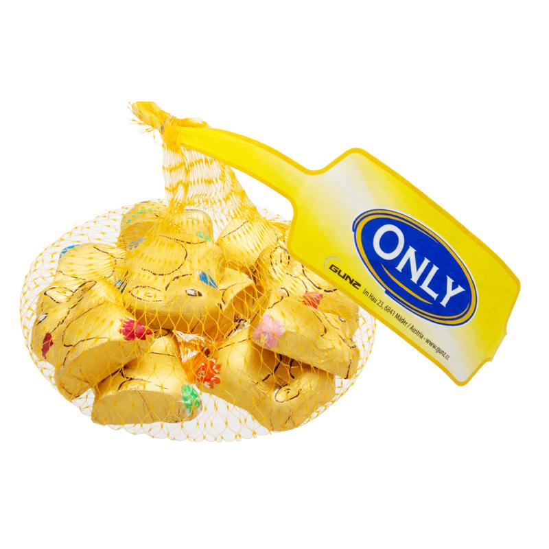 Milchschokolade goldene Osterhasen