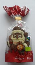 Santa Claus in Town Bio Fairtrade Confi Weihnachtsmann 40g