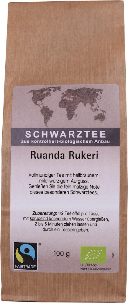 Schwarztee Ruanda Rukeri