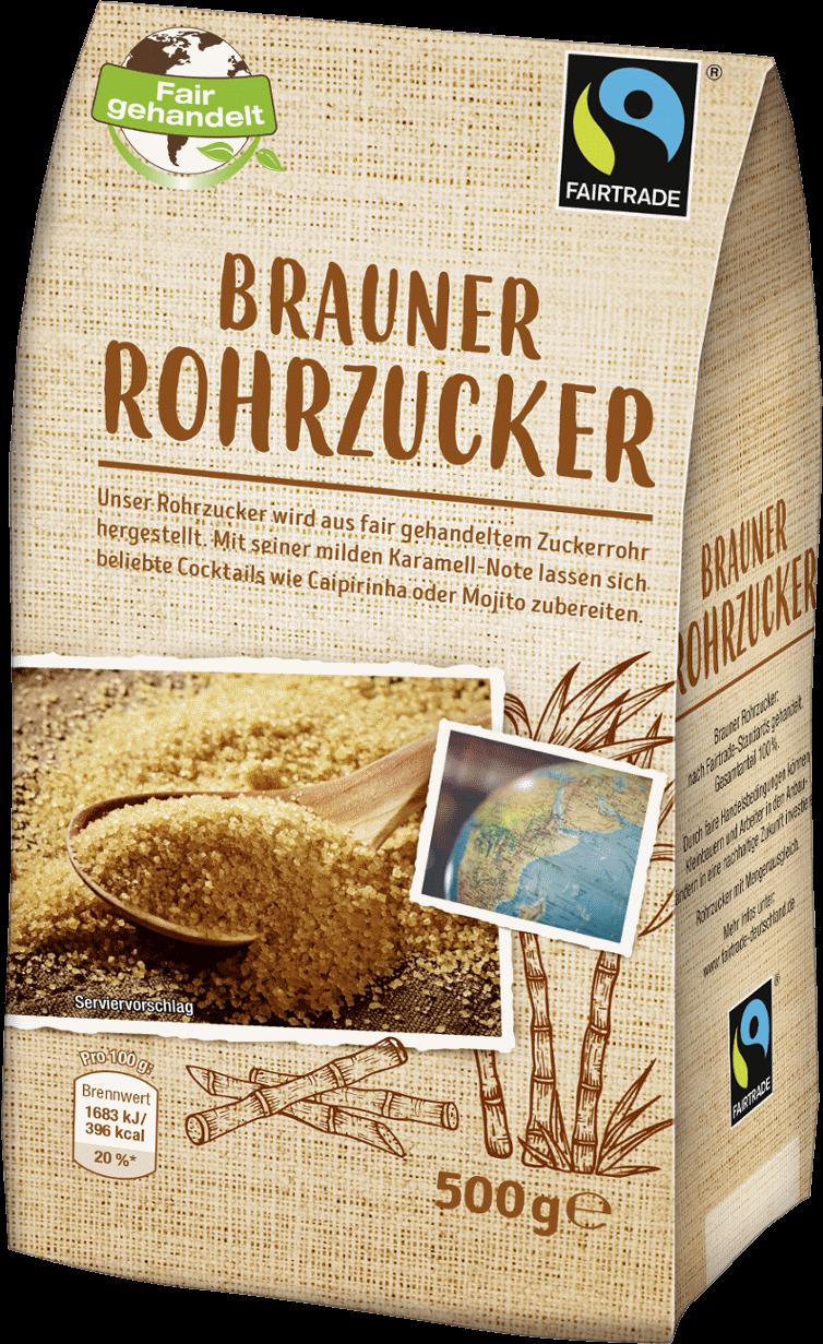 Brauner Rohrzucker