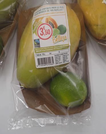 Duo Papaya Lime