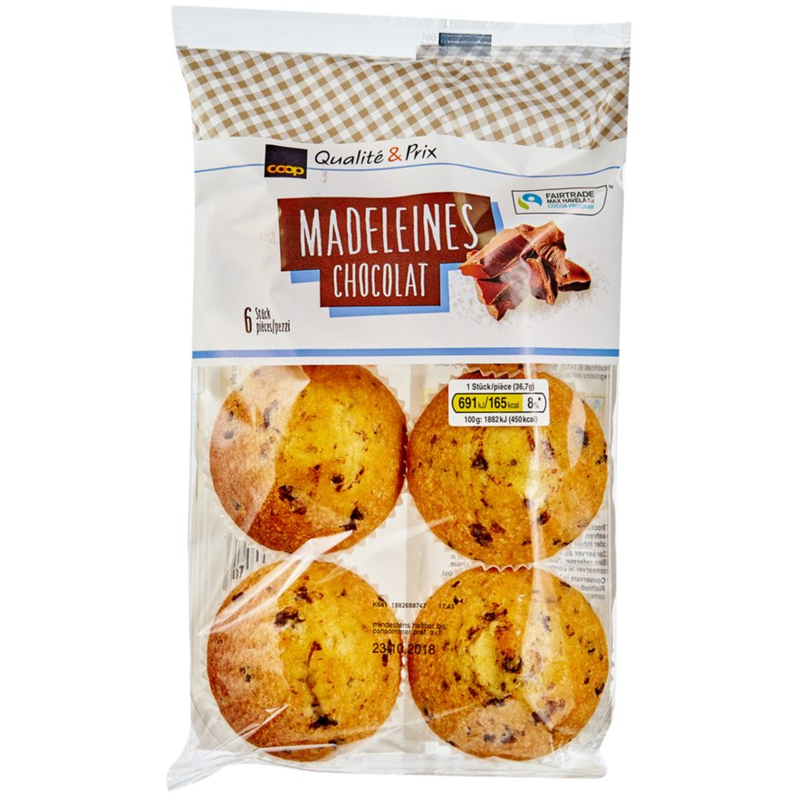 Madeleines Chocolat