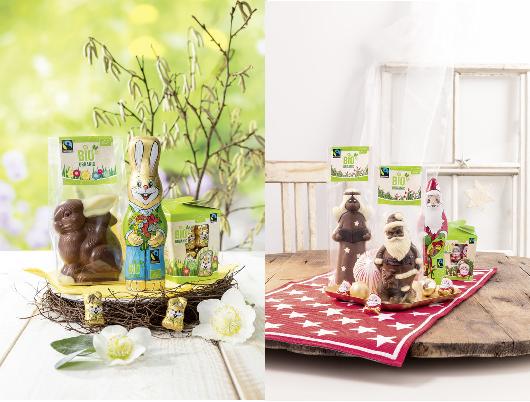 Bio Fairtrade Schokolade (Hohlfiguren)