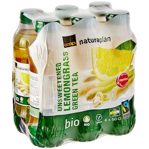Green Tea Lemongrass, unsweetened (6x50cl)