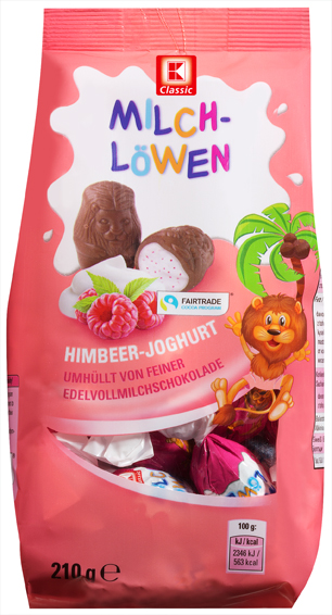 KLC Milchlöwen Himbeer-Joghrt 210g
