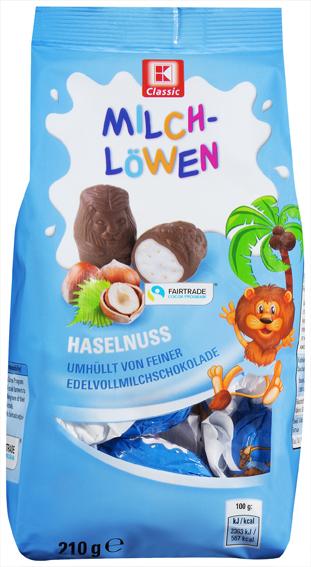 KLC Milchlöwen Milch-Nuss 210g