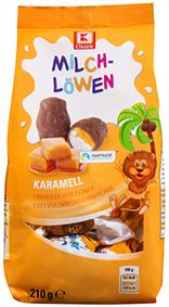 KLC Milchlöwen Karamell 210g