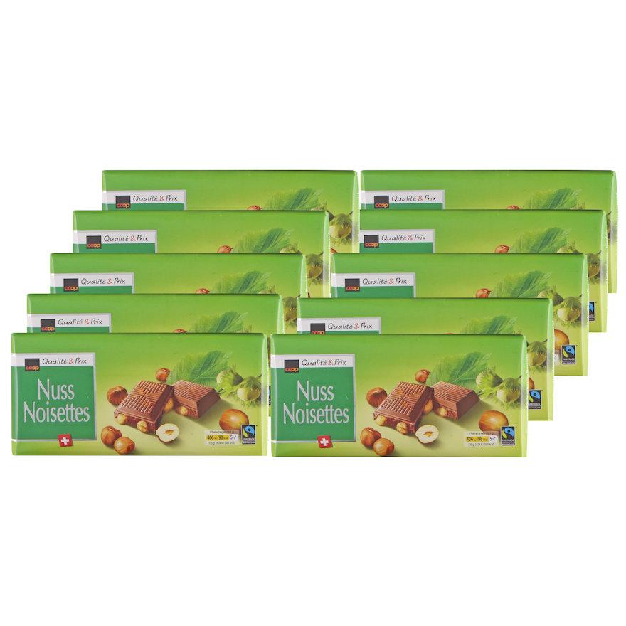 Tafelschokolade Nuss (12x100g)
