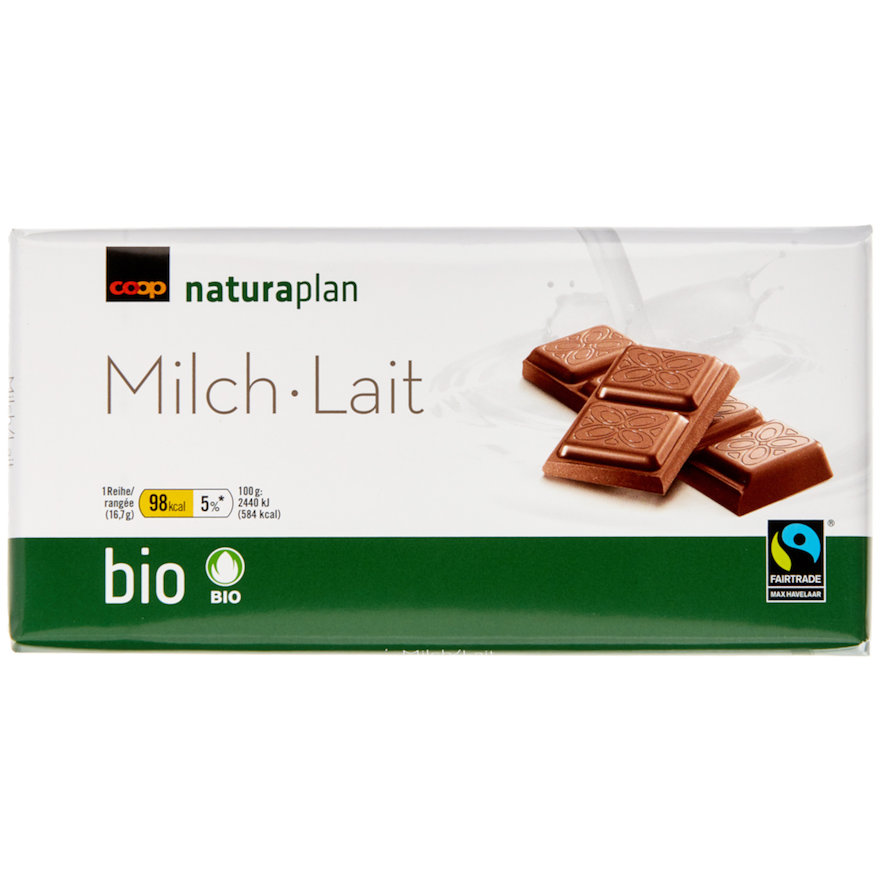 Tafelschokolade Milch (6x100g)