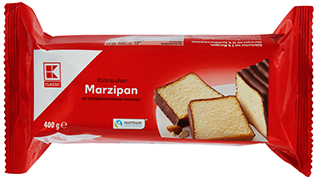 KLC Folienkuchen Marzipan 400g