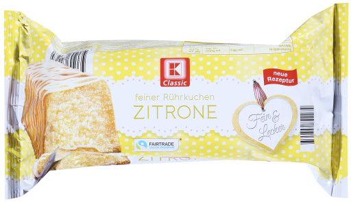 KLC Folienkuchen Zitrone 400g