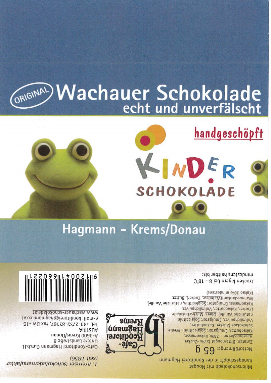 Wachauer Schokolade Kinderschokolade