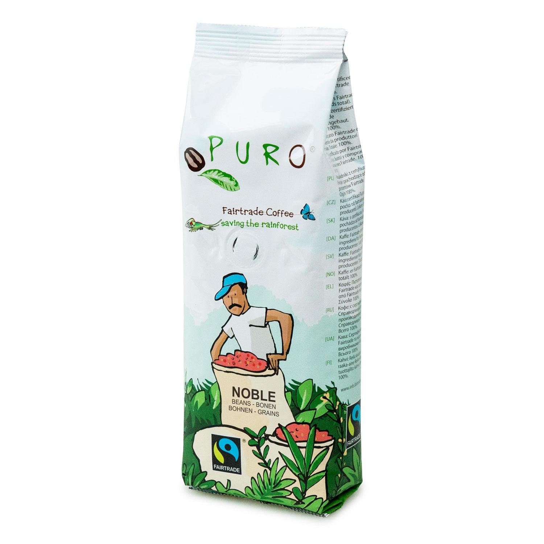 Puro – Café équitable grains – 250 gr