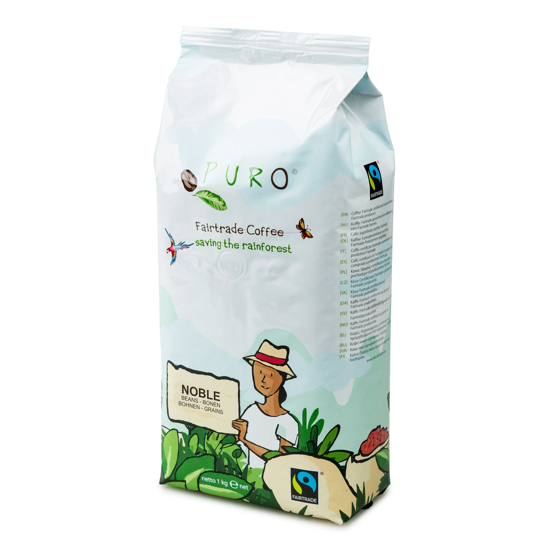 Puro – Café équitable noble grains – 1 kg