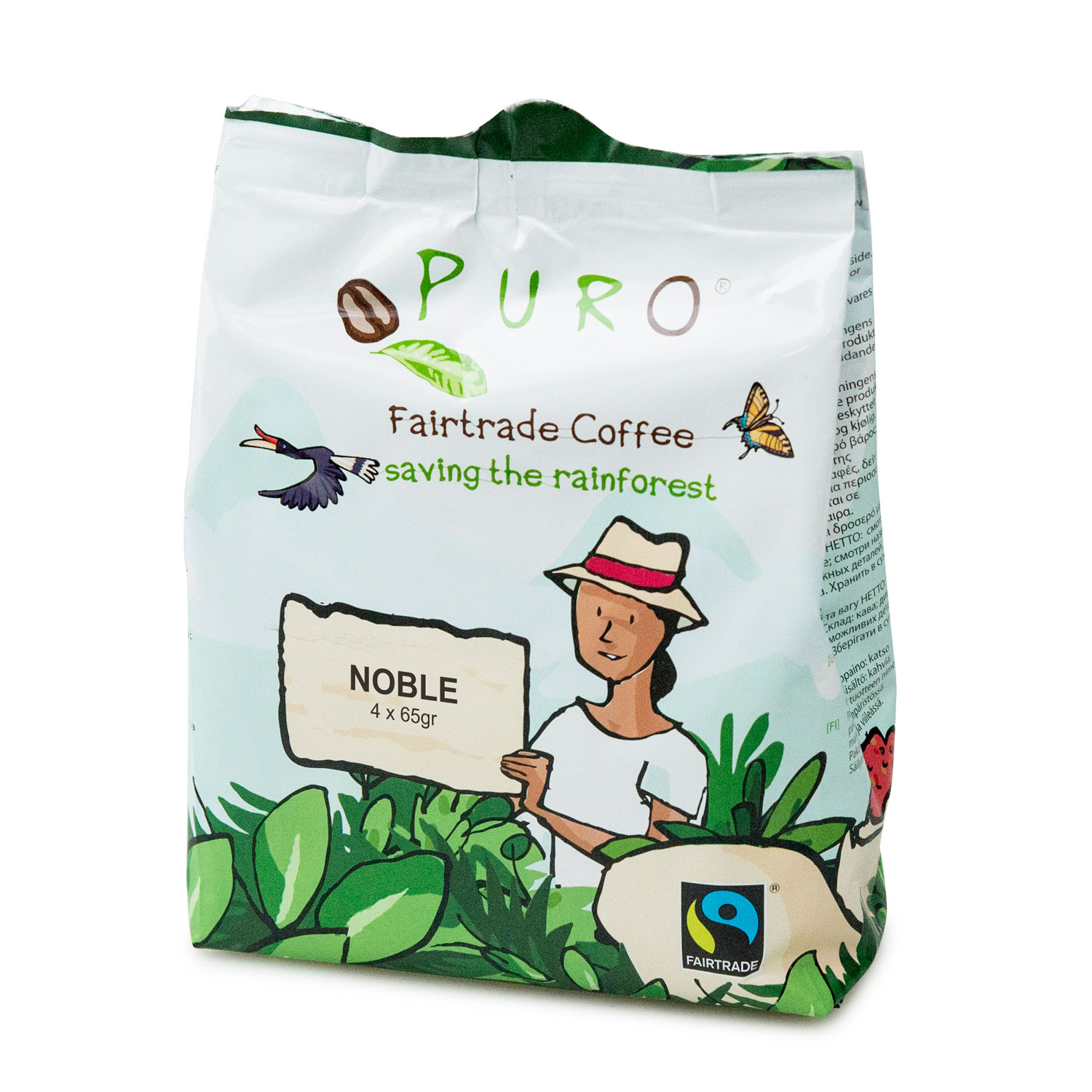 Puro – Pouch fairtrade noble – 3.12 kg