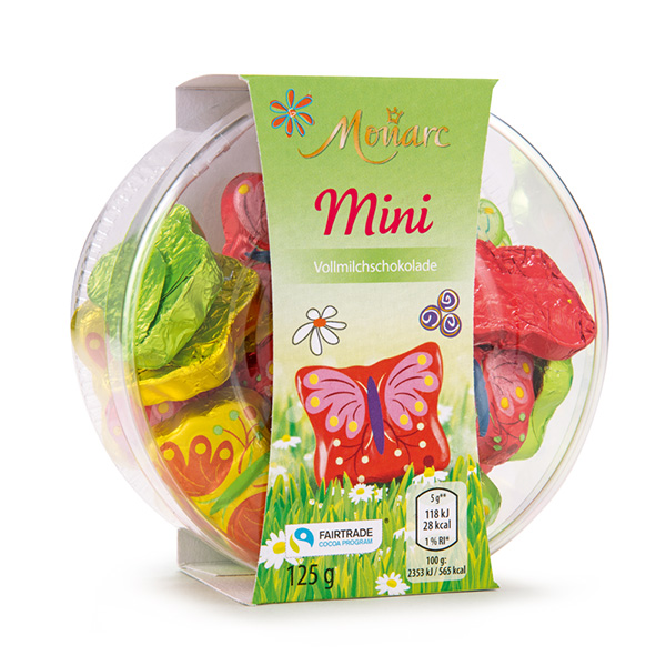 Mini Osterfiguren in der Dose Schmetterling