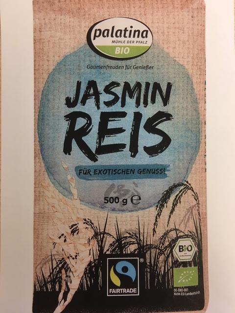 Fairtrade Bio Jasmin Reis