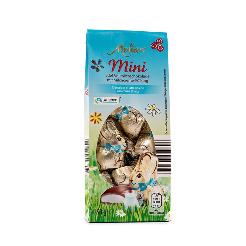 Mini Osterhäschen Gefüllt Milchcreme