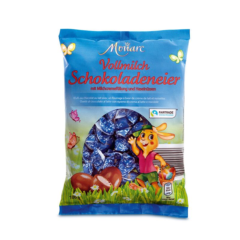 Vollmilch-Schoko-Eier Milchcreme