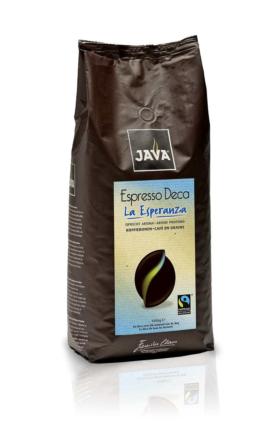 Java - La Esperanza - Deca koffiebonen - 1 kg