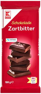 KLC Tafelschokolade Zartbitter 100g