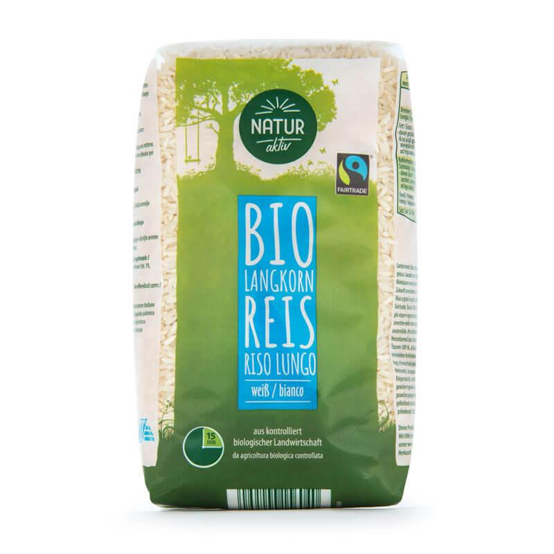 BIO Langkorn Reis weiß