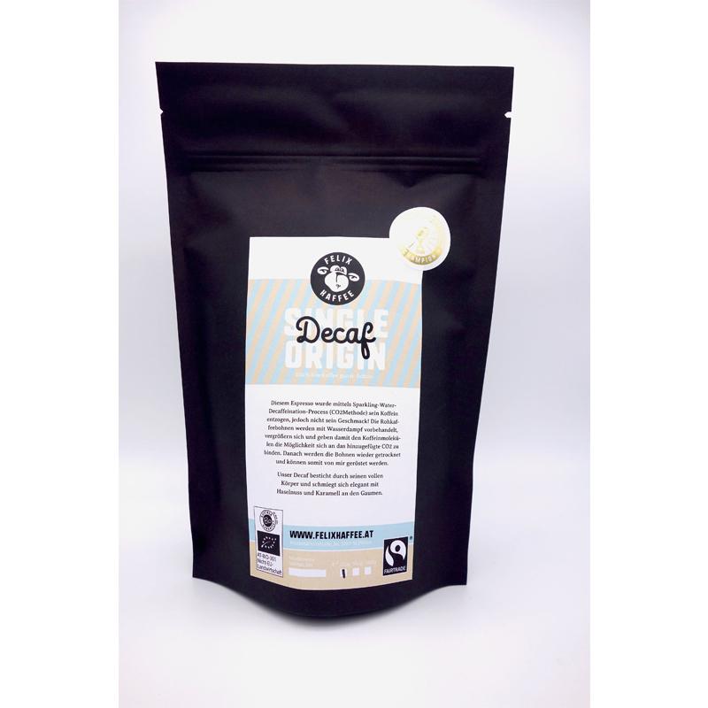 DECAF - entkoffeinierter Kaffee