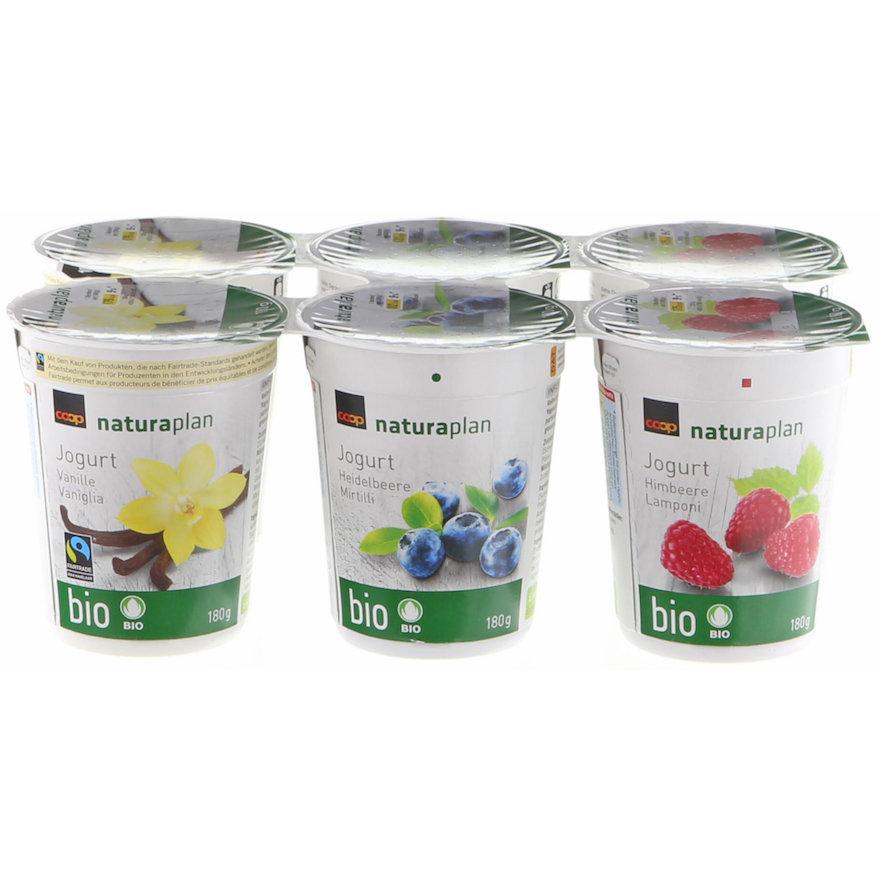 Jogurt assortiert (6x180g)