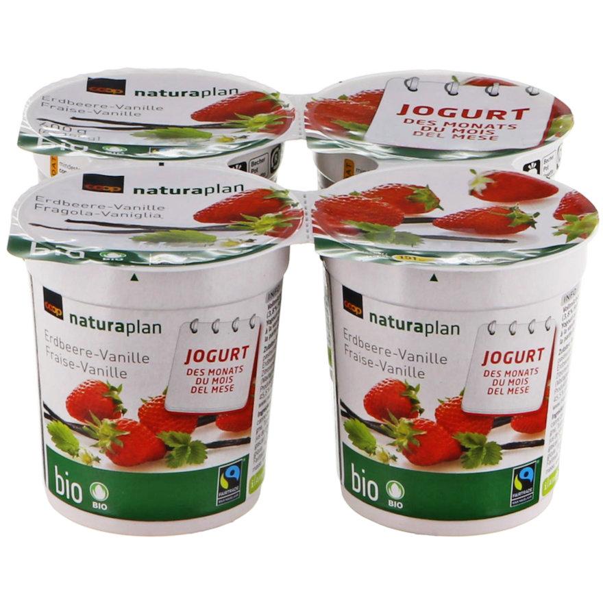 Jogurt Erdbeere-Vanille (4x150g)