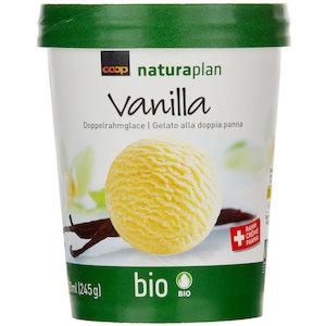 Vanilla Doppelrahmglace