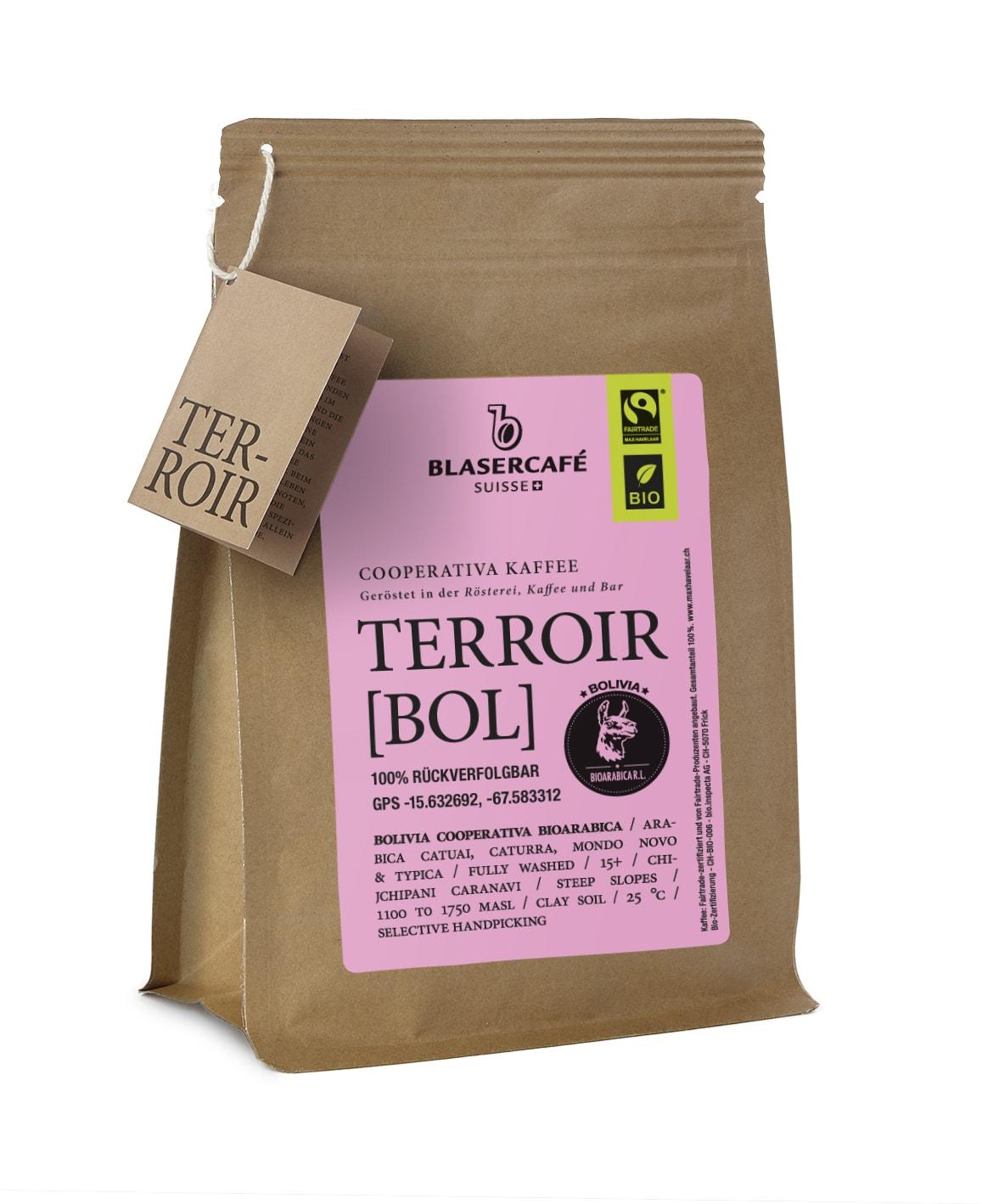 Terroir Bolivia bohnen