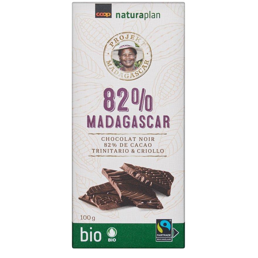 Tafelschokolade 82 Prozent Madagaskar