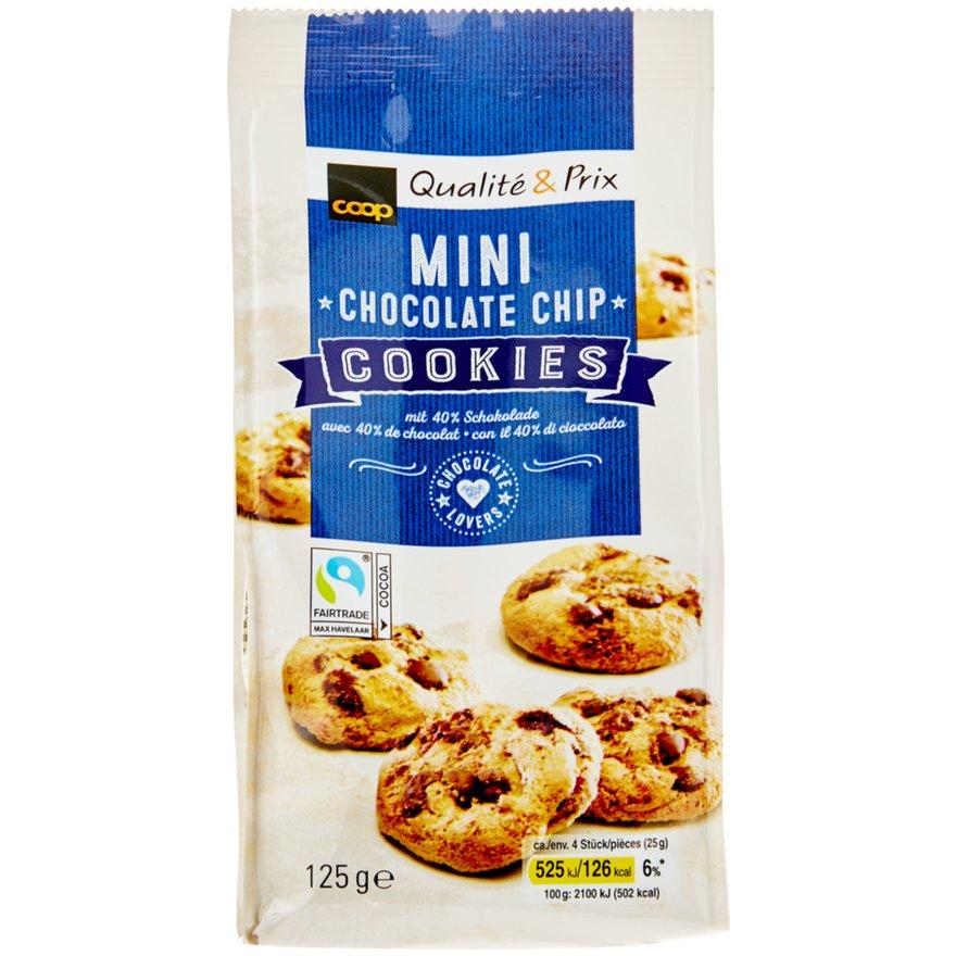 Mini Schokoladen Chips Cookies