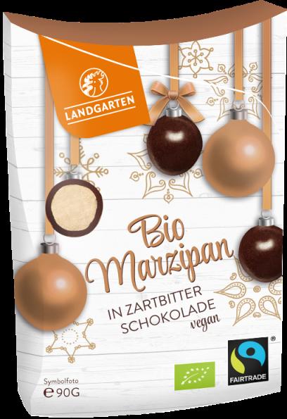 BIo FT Marzipan in Zartbitterschokolade 90g
