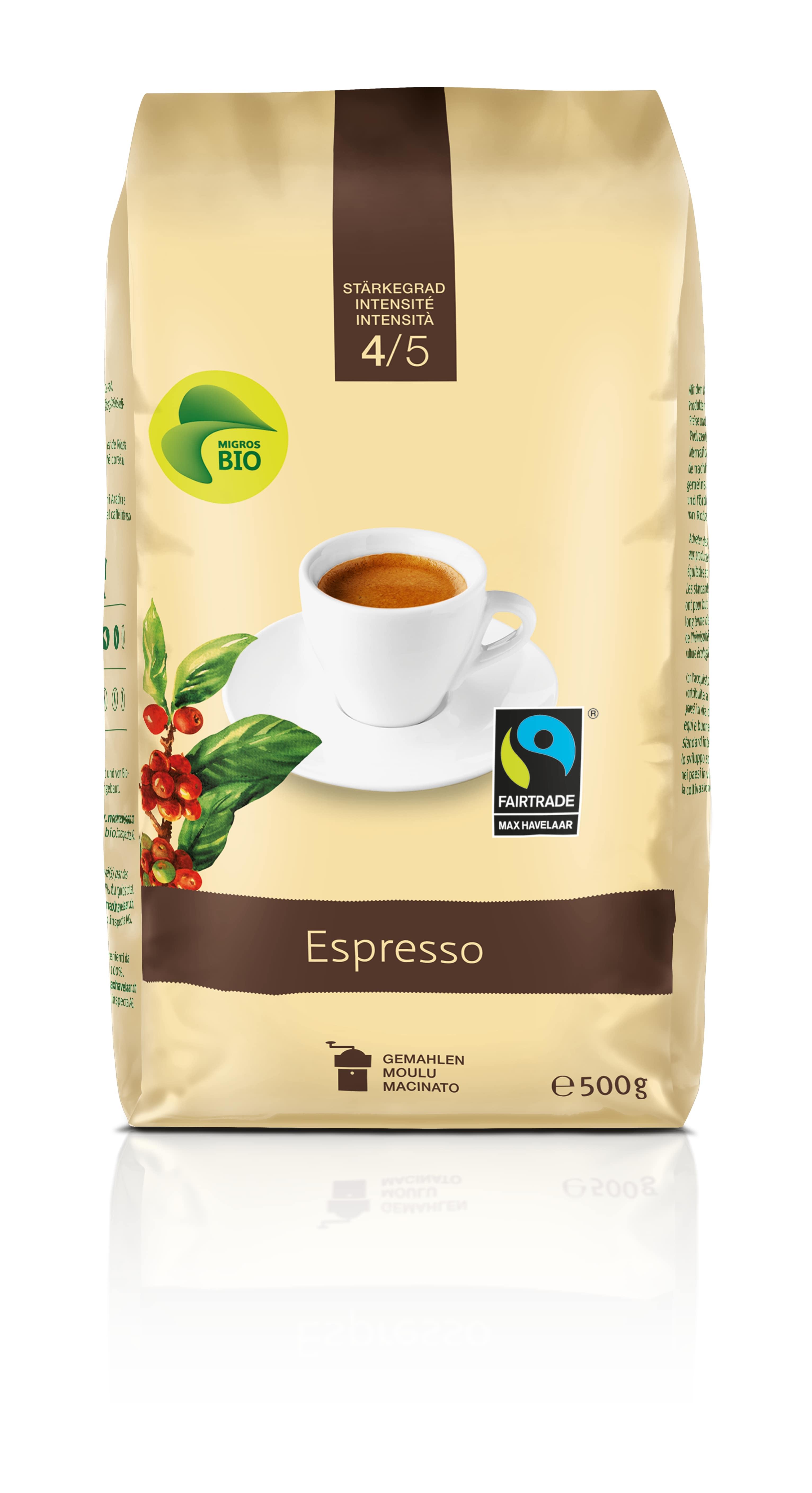 Espresso, gemahlen