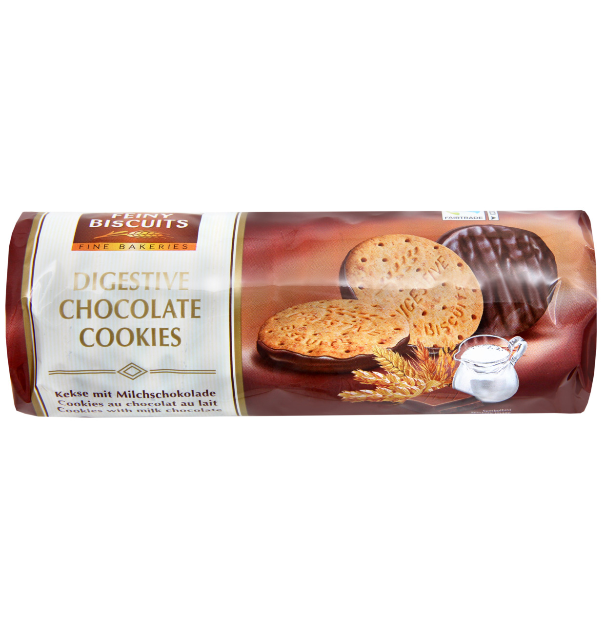 Kekse Digestive mit Milchschokolade
