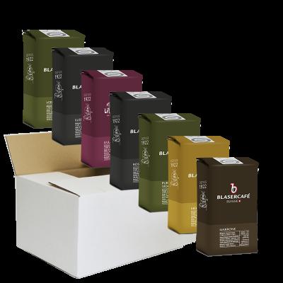 Degustations-Box, Bohnen