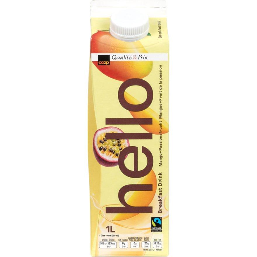 Hello Drink Mango & Passionsfrucht