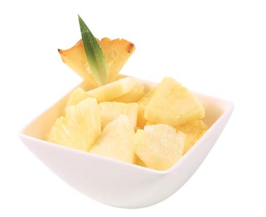SV Ananas geschnitten
