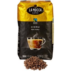 Kaffee Crema Bohnen