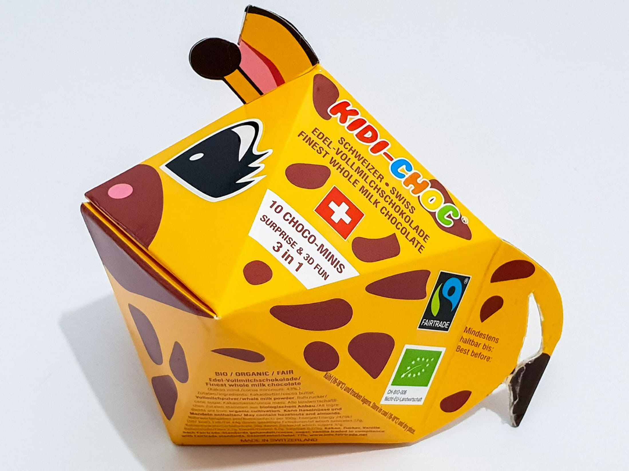 Schokoladennaps, Giraffe