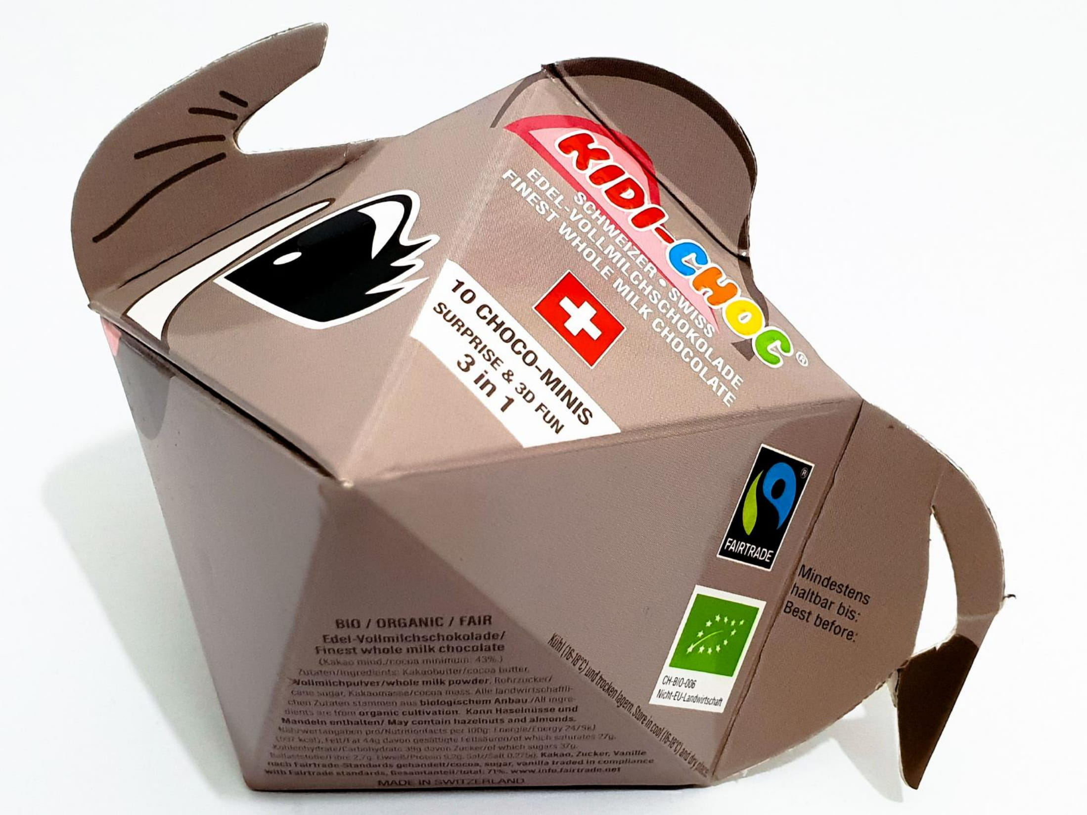 Schokoladennaps, Elefant