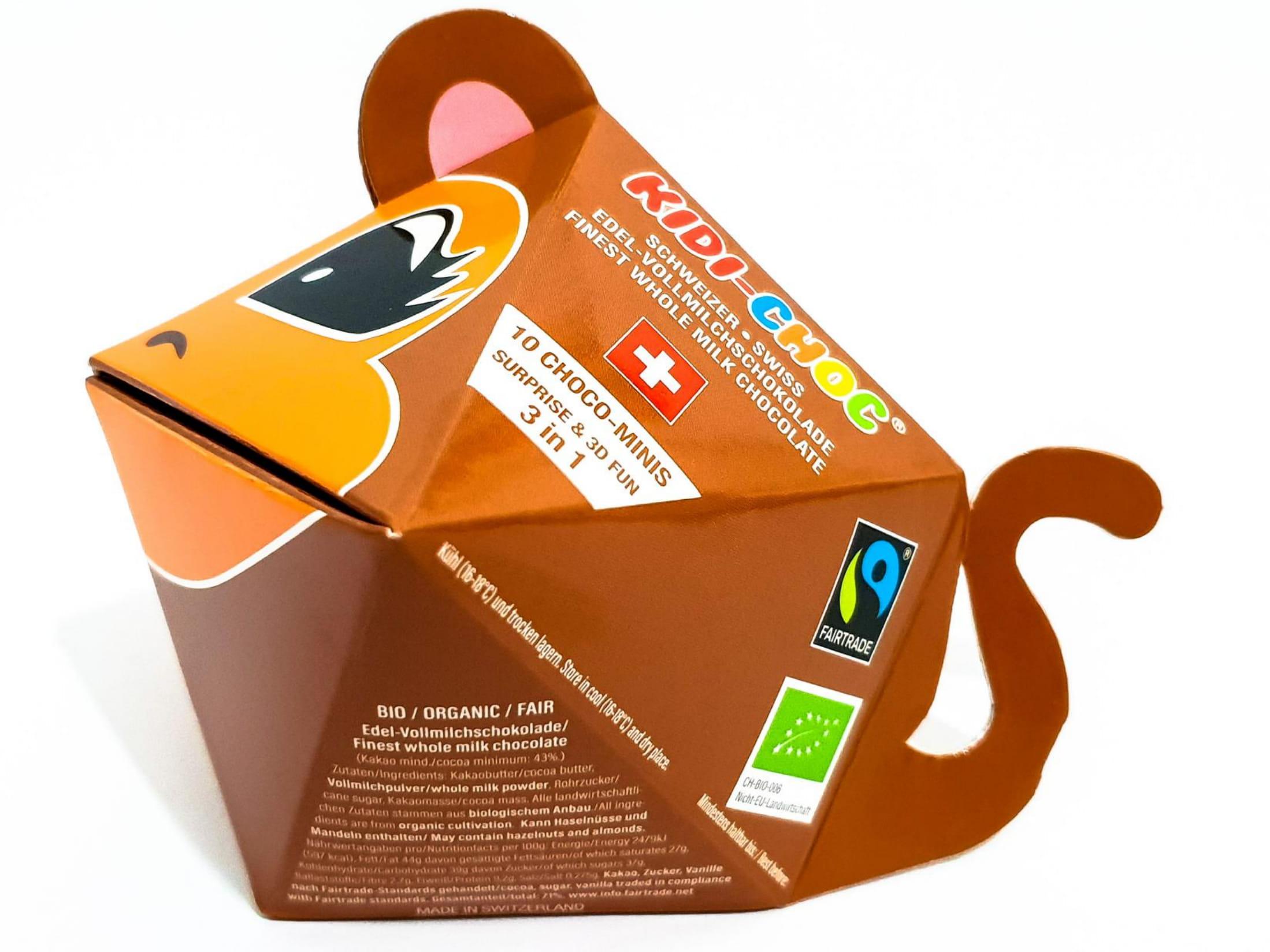 Schokoladennaps, Affe