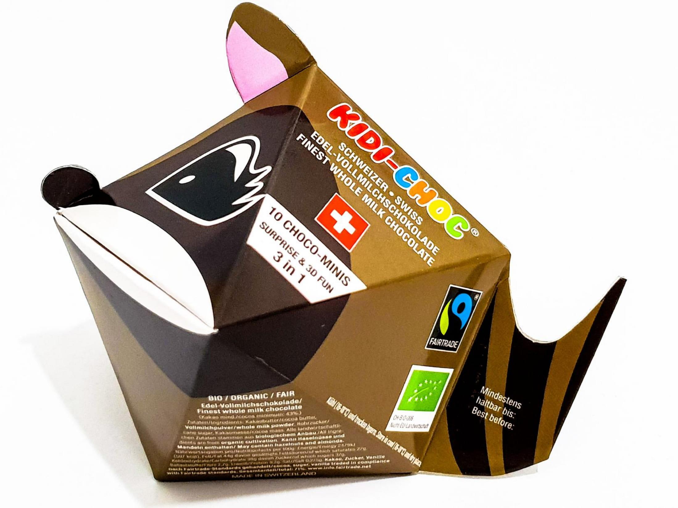 Schokoladennaps, Waschbär